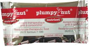 Plumpy nut omslagspapper